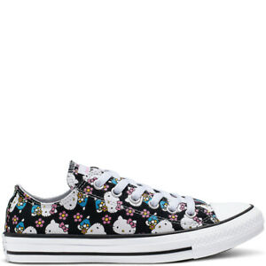 Details zu Converse x Hello Kitty Chuck Taylor All Star OX Sneaker, 165765C Multiple Sizes