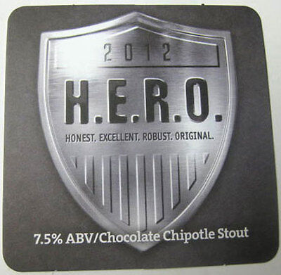 Mat DuClaw MARYLAND 2014 COCOA FUEGO CHOCOLATE CHIPOTLE STOUT Beer COASTER