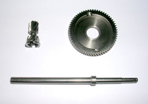 MANFISH STAINLESS 6.3:1 GEARS PMR STAINLESS TOURNAMENT SPINDLE FIT ABU 5500//6500