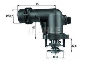 Nr TM 15 105 BEHR Thermostat passend für BMWE 3er E36//E46// Z3 E36 07.98-