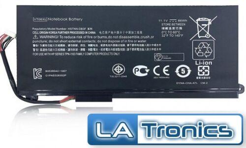 New Genuine HP Envy 17-3000 3250nr 3270nr 86WH VT06 VT06086XL 657503-001 Battery