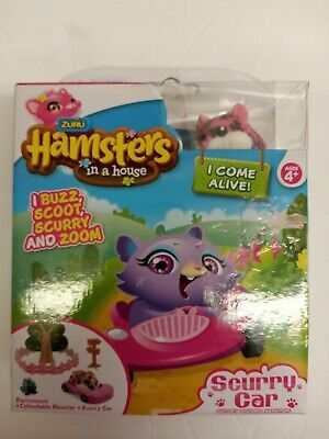 New Zuru Hamsters in a house  Scurry Car  Poppy