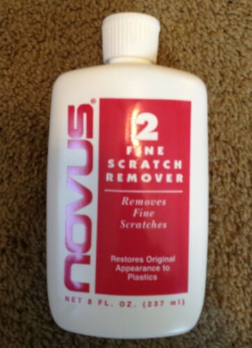 Free Shipping Fine scratch remover 8oz bottle Great for Pinball NOVUS #2