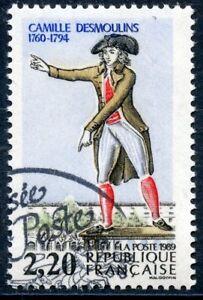 STAMP / TIMBRE FRANCE OBLITERE N° 2594 REVOLUTION / CAMILLE DESMOULINS