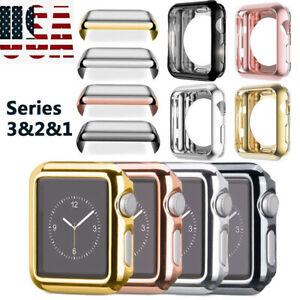38-42MM-For-Apple-Watch-Series-1-2-3-Full-Body-Cover-Snap-On-Case-Protector-US