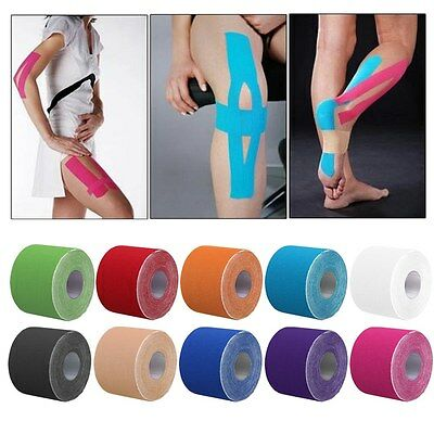 Athletic Muscle Tape Kinesiology Physio Strapping Support Sport Rocktape Rock