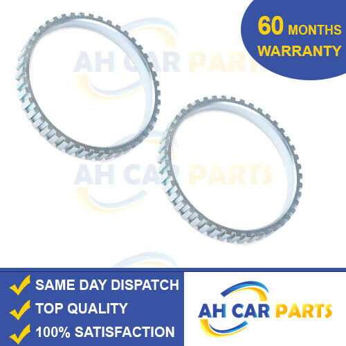 2001-2013 2X ABS RELUCTOR RING FOR NISSAN X-TRAIL T30 FRONT LEFT AND RIGHT