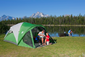 Coleman 6-Person Dome Tents