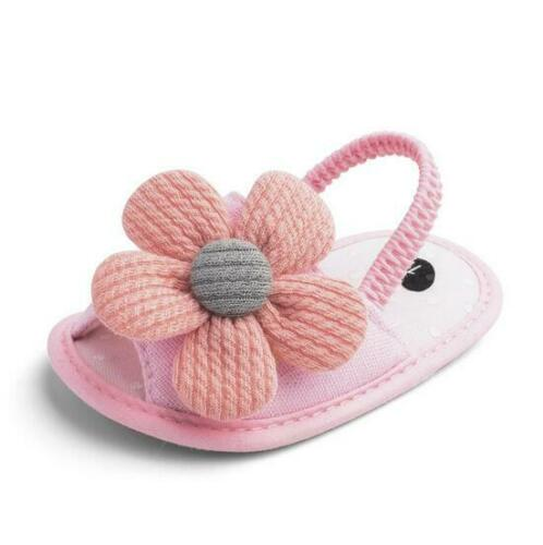 Baby Girl Summer No-slip Sandals Toddler Infant Newborn Casual Shoes 0-18 Month