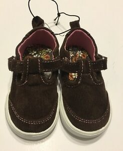 84348a3aa105bd Image is loading Corduroy-Shoes-Size-3-Baby-Girl-Mary-Jane-