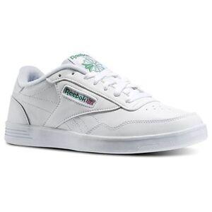 Reebok Men/'s Club MEMT 4E Extra Wide Classic Shoes V70198 White//Green