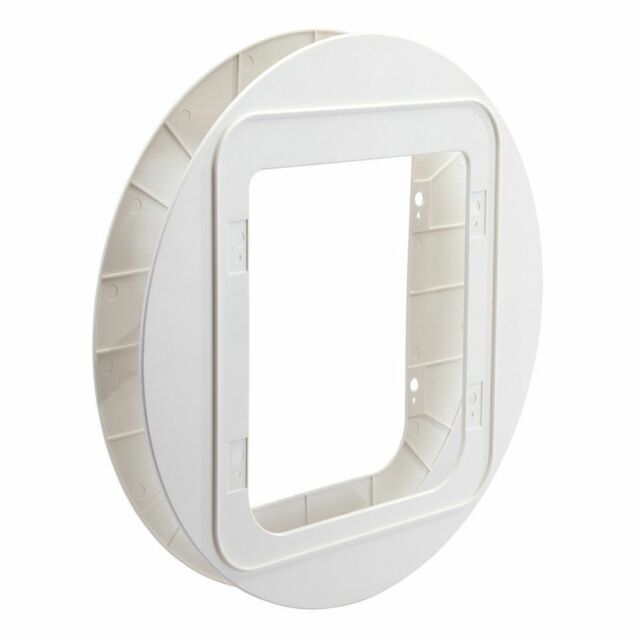 SureFlap White Pet Door Mounting Adaptor. Premium Service, Fast Dispatch