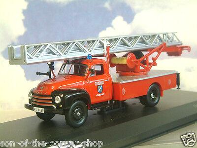 Ixo IFA s 4000-1 dl2 escalera giratoria escalera carro de bomberos meetzen 1:43