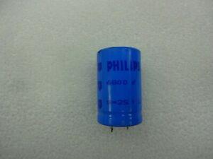 Genuine Philips 6800uF 25V Radial Electrolytic Capacitor 25x40mm