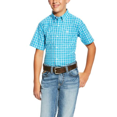 Ariat Boy/'s Pro Series Lawson Shirt