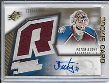 05-06 SPx Peter Budaj Rookie Jersey Auto # 183