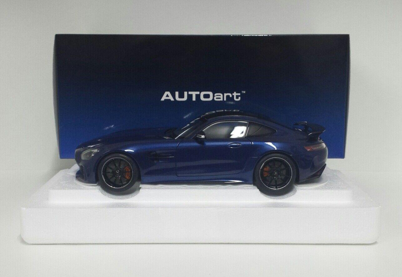 ahorra hasta un 70% AUTOART 1 1 1 18 MODELLINO AUTO MERCEDES AMG GTR 2017 azul METALLIC APRIBILE DIE CAST  suministro de productos de calidad