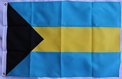 The BAHAMAS FLAG - NATIONAL FLAG of Bahamian 3x2ft 90x60cm NEW