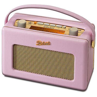 Roberts Revival RD60 Portable DAB/FM Digital Radio - Pastel Pink