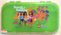 Lego Iris Friends Minifigure & Brick Storage Sorting Case Divider Tray