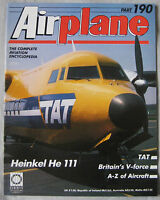 Airplane magazine Issue 190 Heinkel He 111 Cutaway drawing & Poster