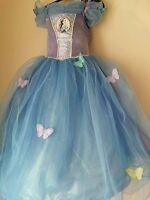 Official Disney Cinderella Blue Dress Movie 2015- 5/6 Yrs