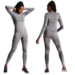 Dare2b-Zonal-III-Womens-Sports-Performance-Base-Layer-Set-Grey-X-XXL