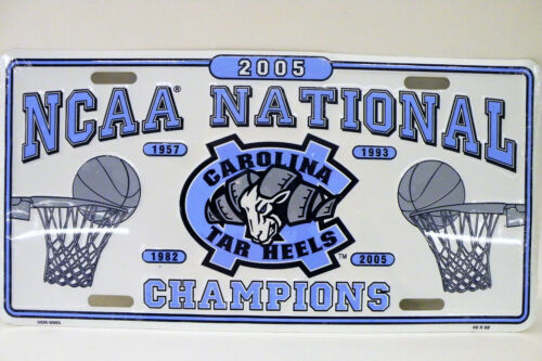 2005 UNC National Champions New Car TAG NOS Wrapped in the original plastic