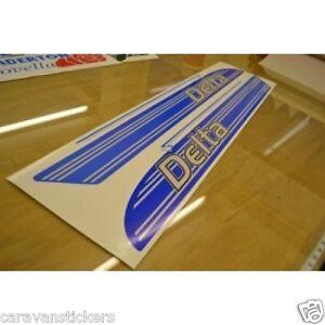 LUNAR Delta STYLE Caravan Stickers Decals Graphics PAIR - Graphics for caravanscaravan stickers ebay