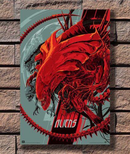B-251 Aliens Xenomorph Classic Movie Alien 12x18 24x36 27x40 Fabric Poster