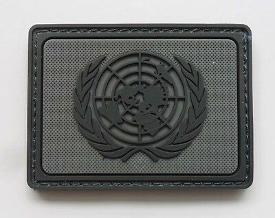NEW UNITED NATIONS Peacekeeping troops LOGO Velcro Patch  SJK    168