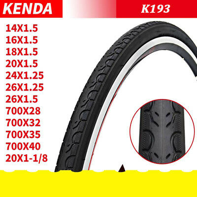 KENDA MOUNTAIN BIKE CITY ROAD MTB TIRE 26 x 1.5 26x1.5