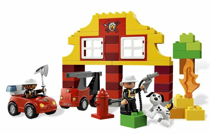 LEGO® DUPLO® 6138 My First NEW Fire Station NEU OVP NEW First MISB NRFB a6d939