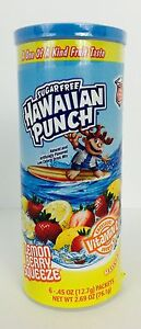 1x Can Sugar Free Hawaiian Punch Lemon Berry Squeeze Drink