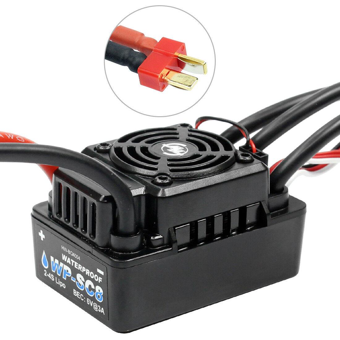 Hobbywing Ezrun WP sc8 t Plug 120a waterproof speed controller ESC brushless
