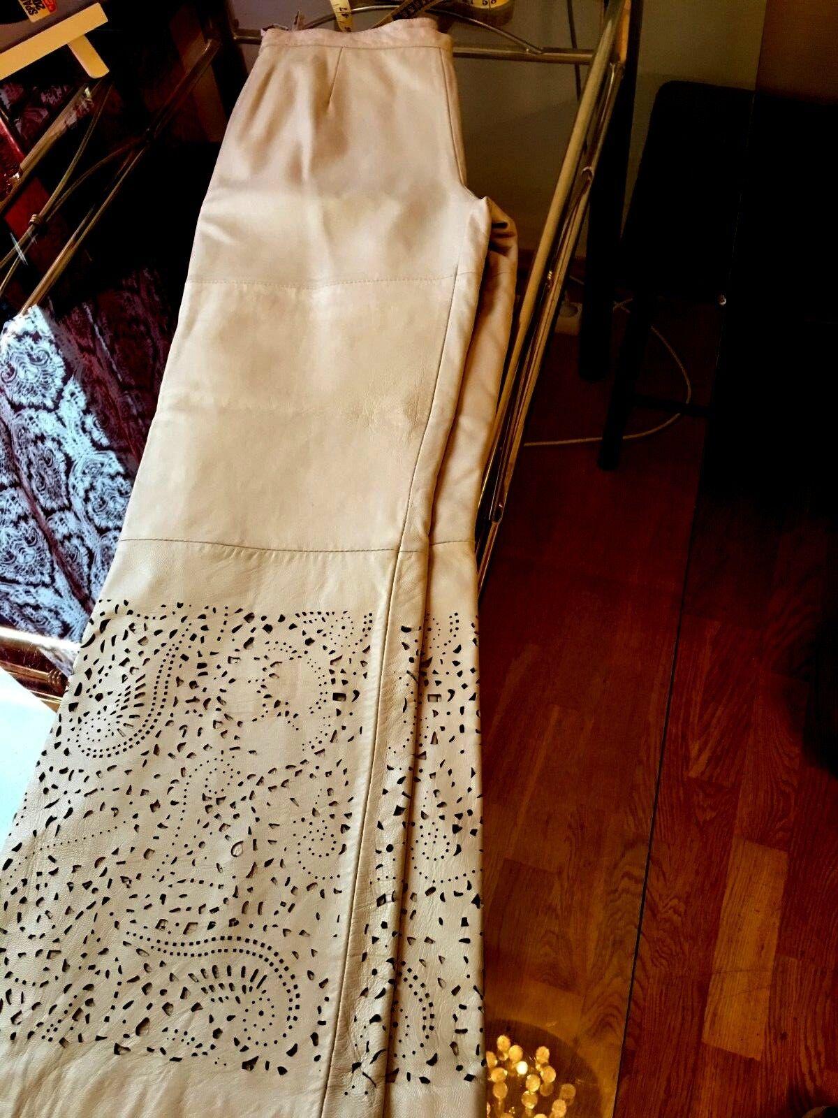 NEW PAMELA McCoy  LEATHER pants