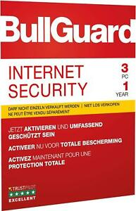 Bullguard-Internet-Security-3-pc-1-Jahr-2019-verschluesseltes-Cloud-Backup-Update