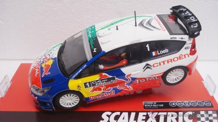 SCX Ref. A10117S300 CITROEN C4 WRC HYBRID LOEB 1 32 NEW NEW
