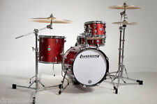 Ludwig Breakbeat by Questlove Drum Kit 4pc Red Sparkle w Bag Set LC179X025