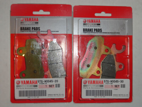 Front Brake Pads OEM Yamaha YFZ450 YFZ450R YFZ450X YFZ450 YFZ 450R 450X 450 R X