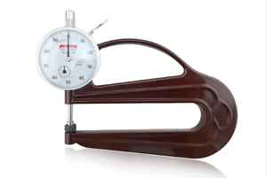 H Type Thickness Gauge 0-10 mm Leather Thickness Gauge H 2.4 N