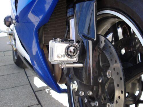 Actioncam Rollei Go Pro soporte motocicleta fijación adaptador de v2a m5
