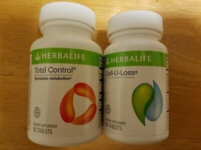 Herbalife Total Control Cell U Loss 90 Tablets Each New Sealed Ebay