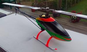 6 3D celdas FURION X 600 tamaño RC helicóptero eléctrico