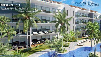 Preventa departamentos de 3 recámaras y club de playa Etapa Varadero Acapulco