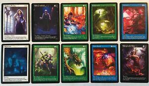 10x Magic Trading Card Classics 5 Set Custom GENERIC Extended Art