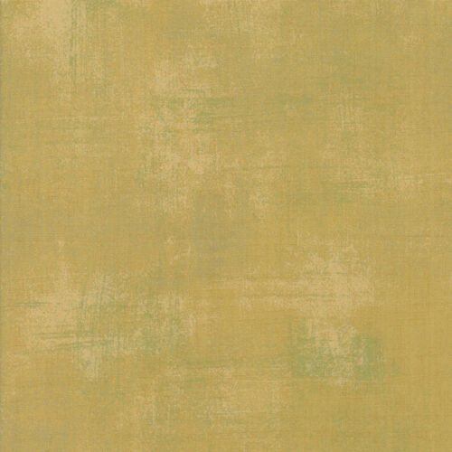 Moda Fabric Grunge Ginger Ale Yellow Quilting Fabric Sold Per 1//4 Metre