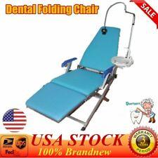 Dental Folding Chair Unitwater Supplyled Lightplastic Spittoon High Quality