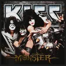 KISS-Patch ricamate-mostro 10x8cm