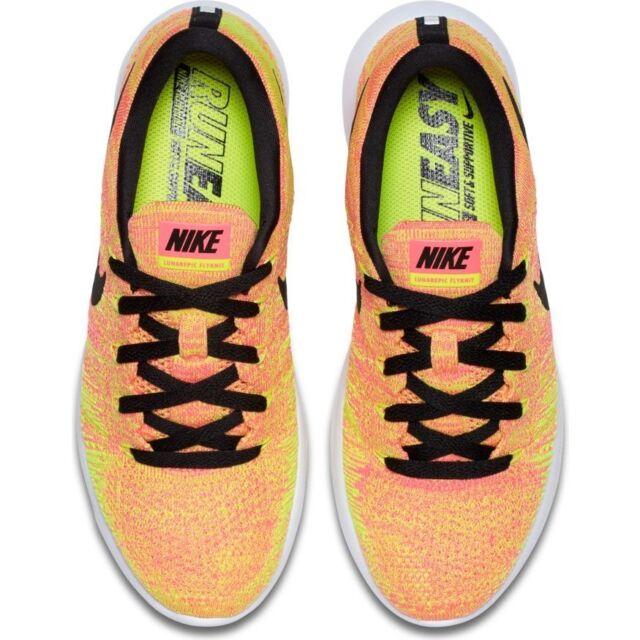 4f9bd72ceb0fe Womens Nike Lunarepic Low Flyknit OC Running Shoes 844863-999 Sz 9 ...